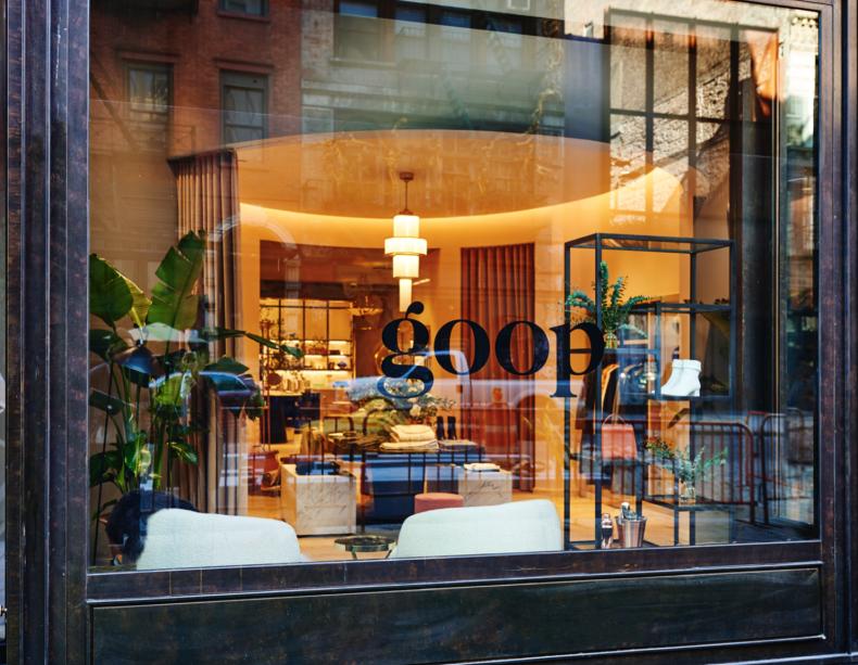 Goop Lab NYC Storefront