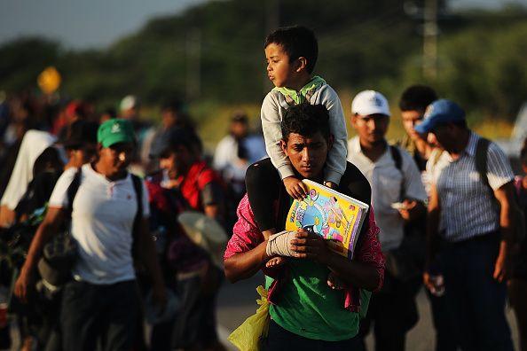 donald trump, migrants, asylum, caravan, law