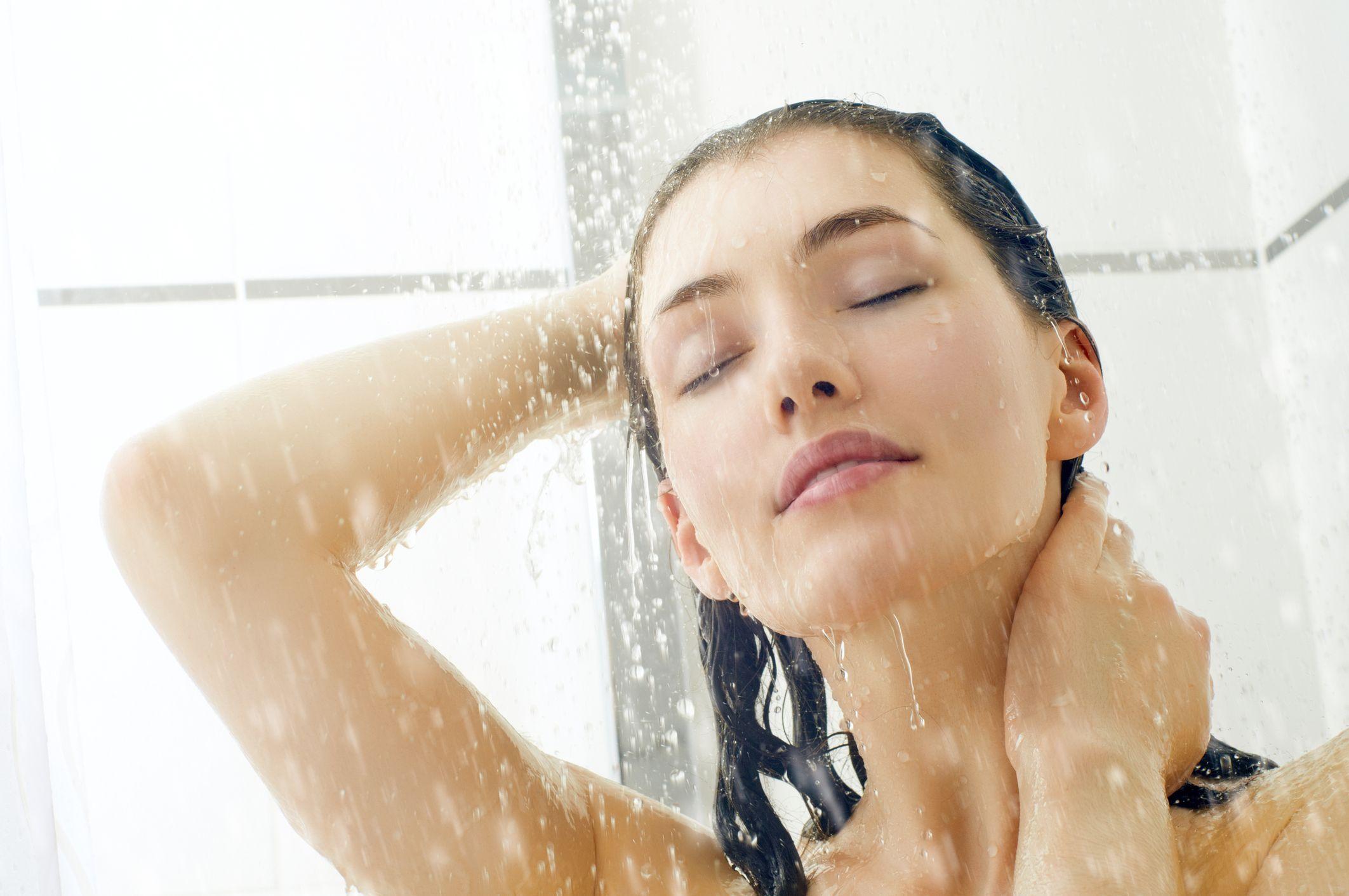 shower-woman-stock