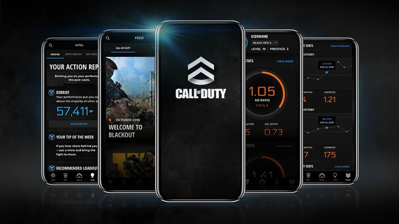 Call of Duty app header