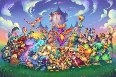 Spyro Characters