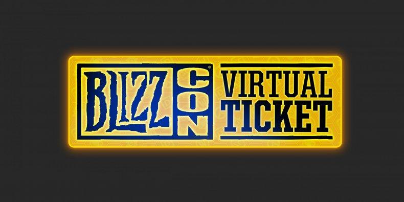 BlizzCon Virtual Ticket Logo