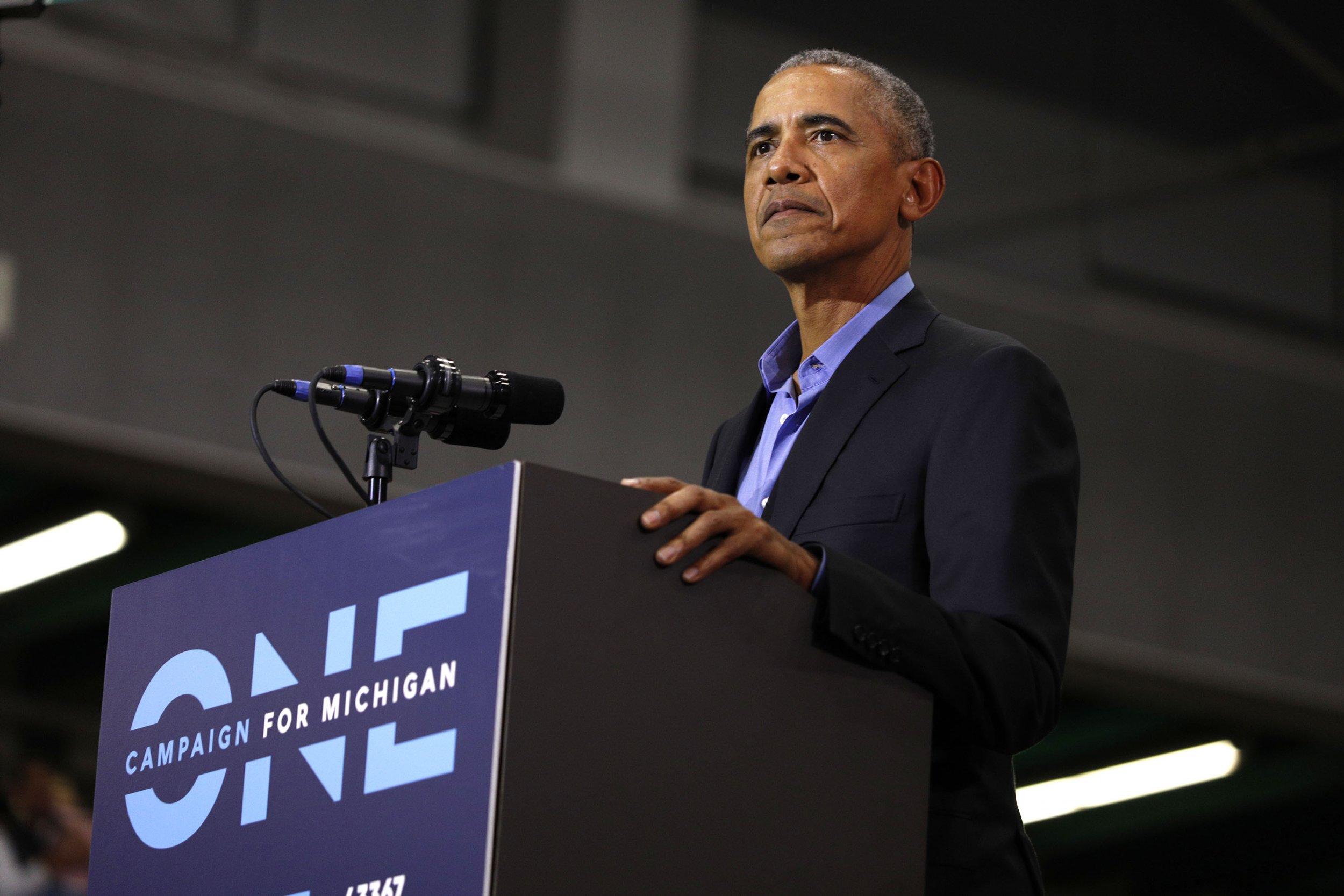barack obama, donald trump rallies watch live stream