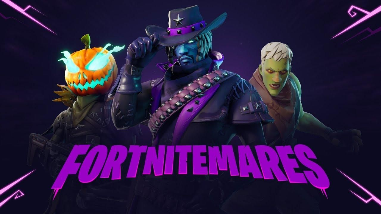 Fortnitemares logo butterfly event