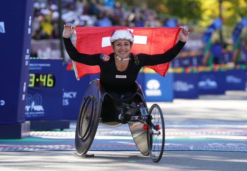 Manuela Schär  new york city marathon