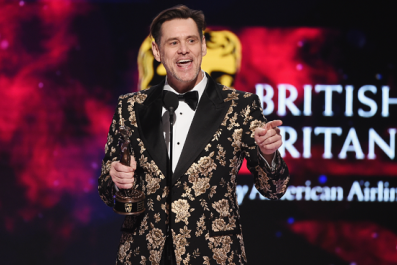Jim Carrey New Cartoon Slams 'Racist Hate Groups' And Republican Party's 'Shamles Lies, Endless Indictments'