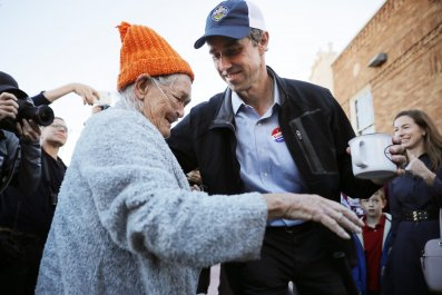 beto o'rourke vote, supporter, texas, senate
