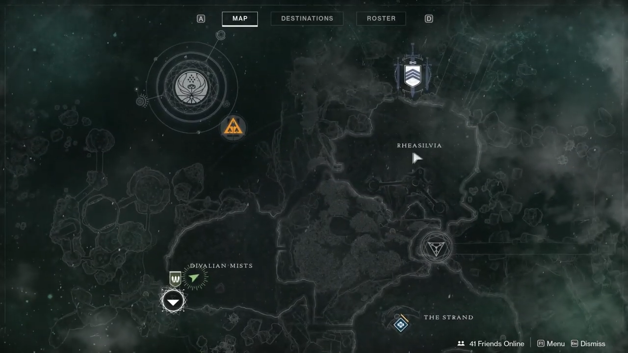 Destiny 2 Ascendant 10 map