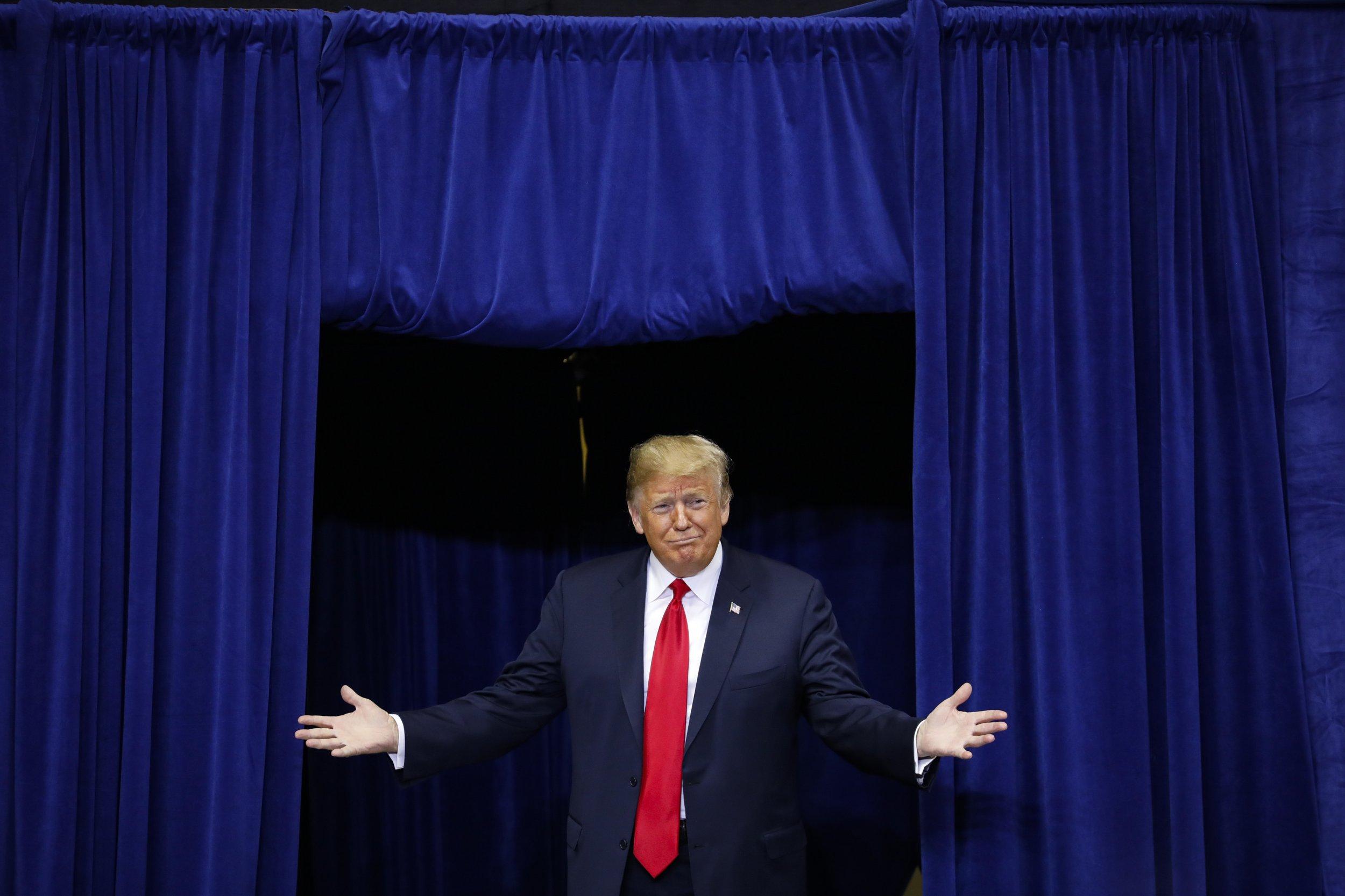 trump exit polls unpopular