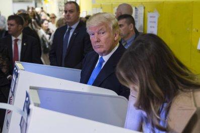 Trump voting in 2016