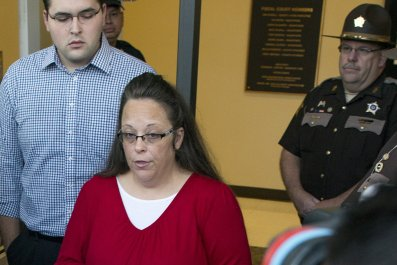 Kim Davis voted out