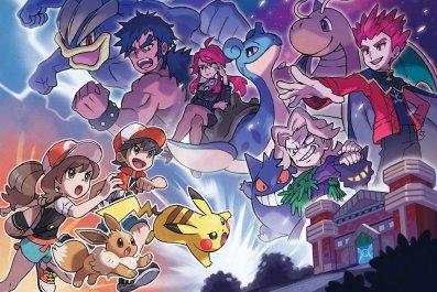eliter four pokemon lets go artwork