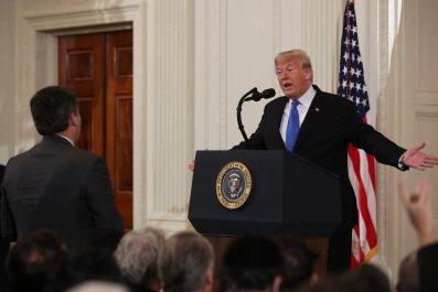 Donald Trump's Bizarre Press Conference