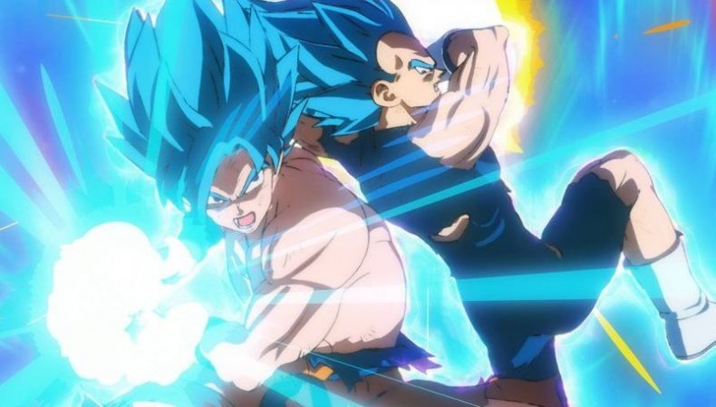 dragon ball super broly goku vegeta