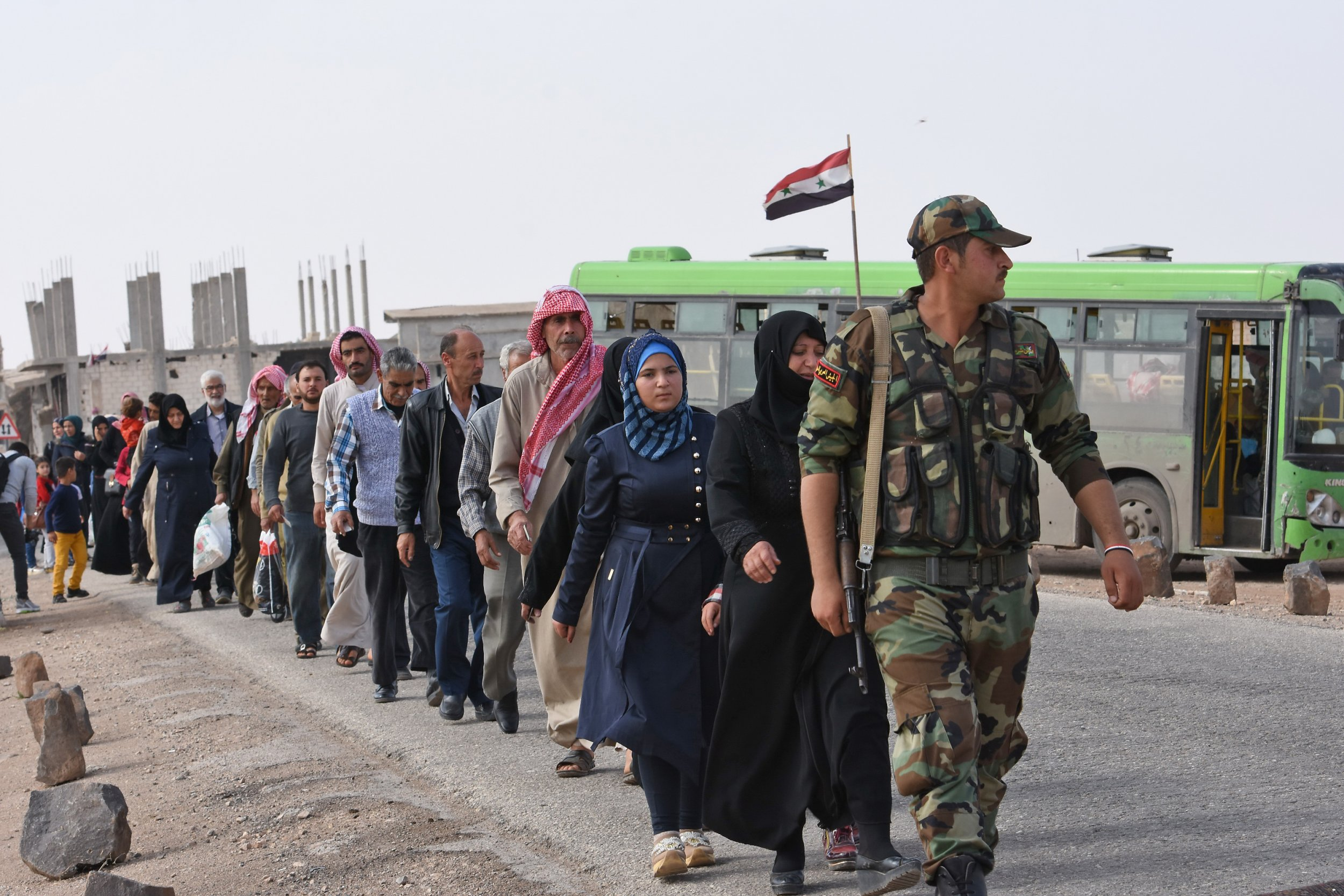 Syria frees women kidnapped by ISIS during one of the war's deadliest attacks