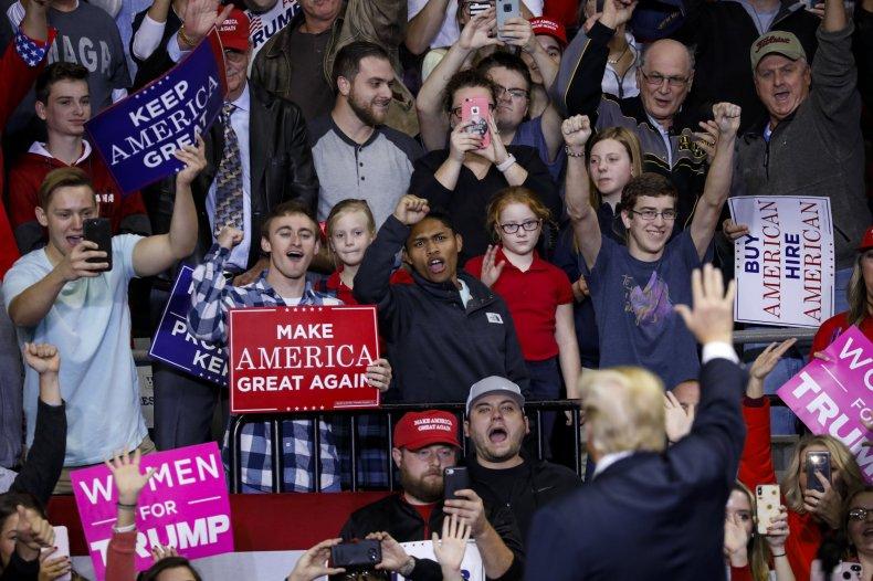 trump supporters president second amendment