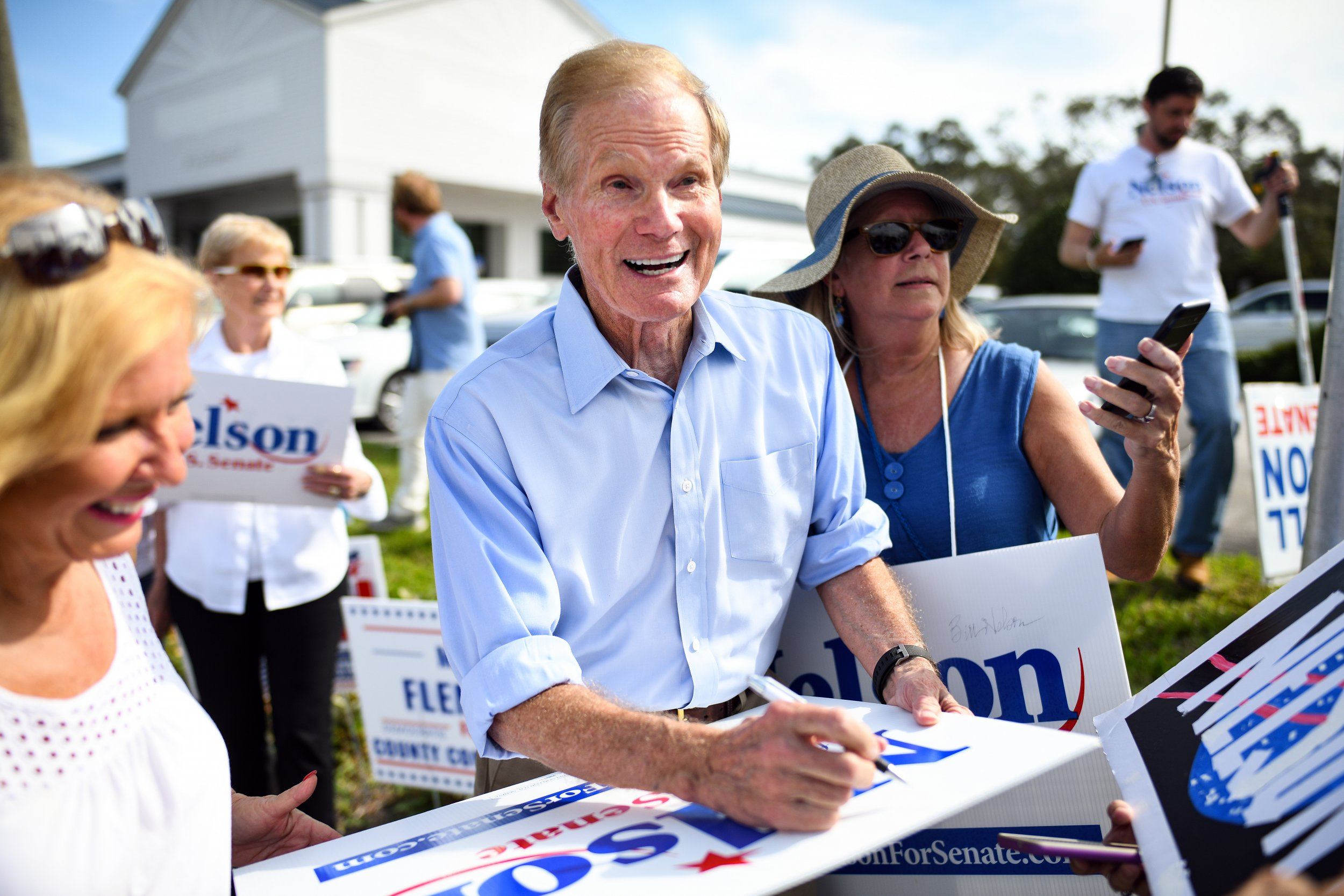 Florida Election Results: Nelson Campaign Says He'll Be Victorious, Prepared to Take Legal Action