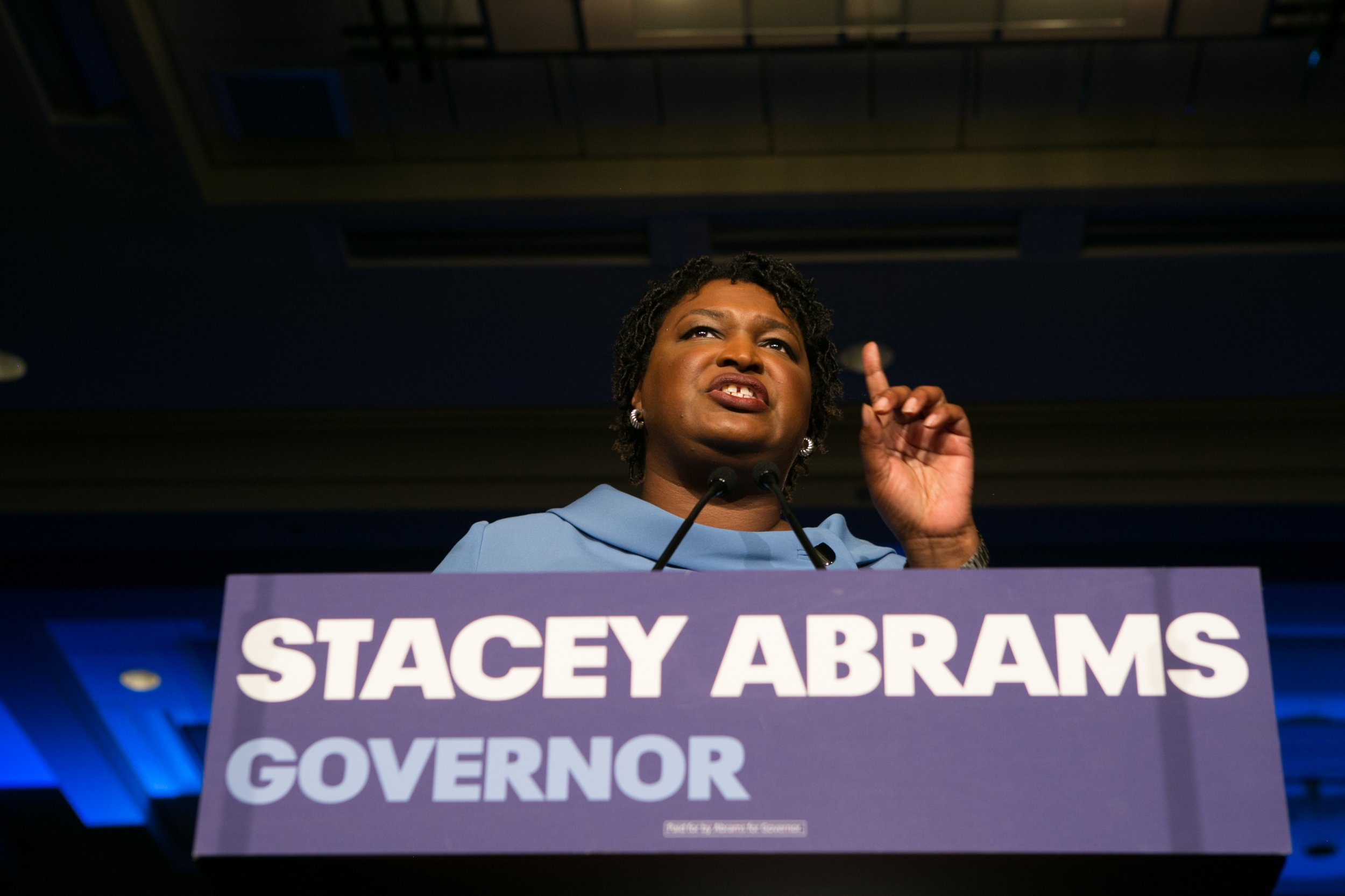 stacey abrams vs brian kemp georgia election results