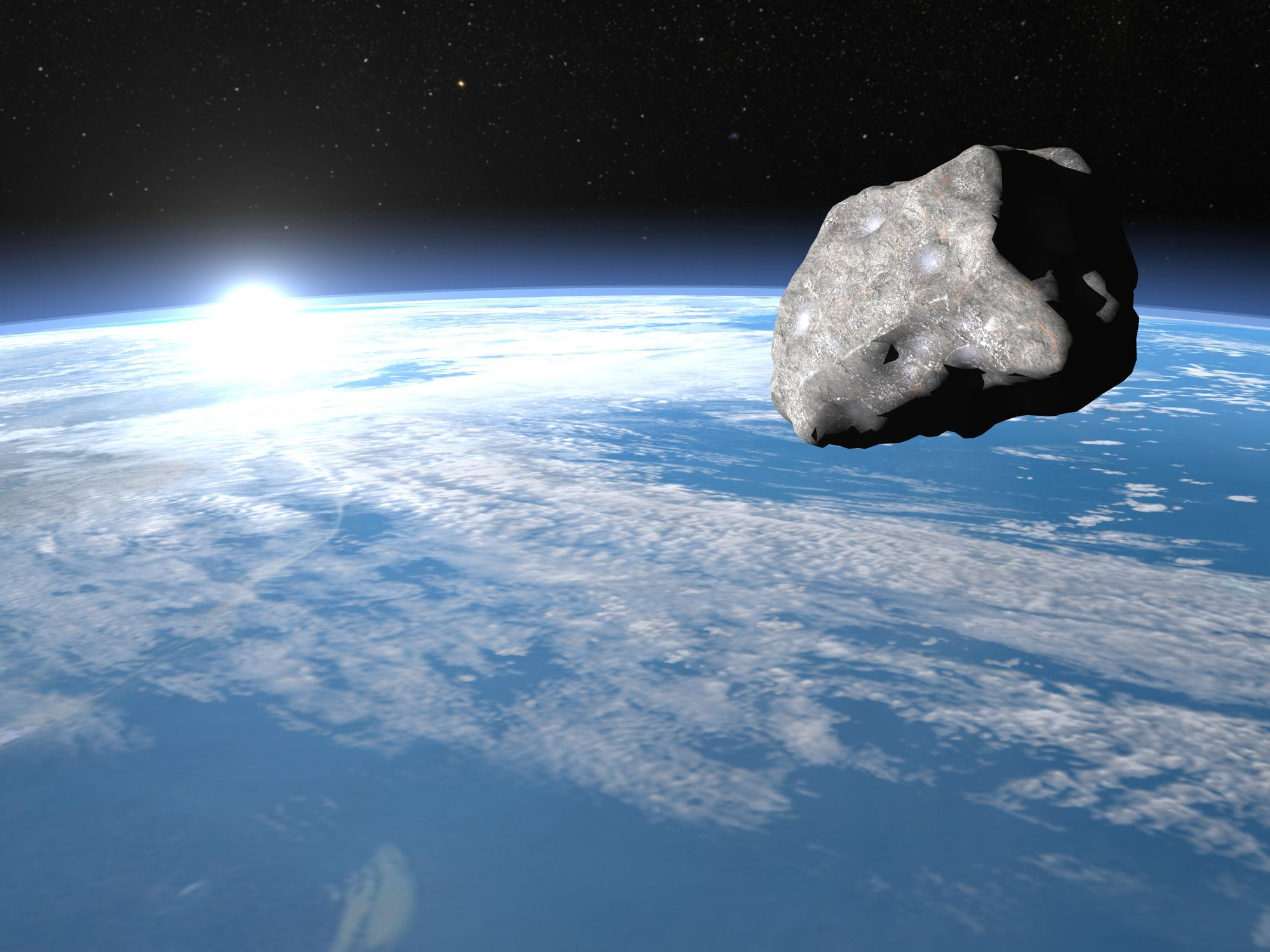An asteroid taller than a house will skim past Earth Saturday