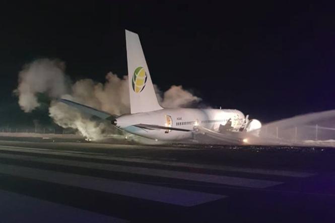 Fly Jamaica Crash Landing