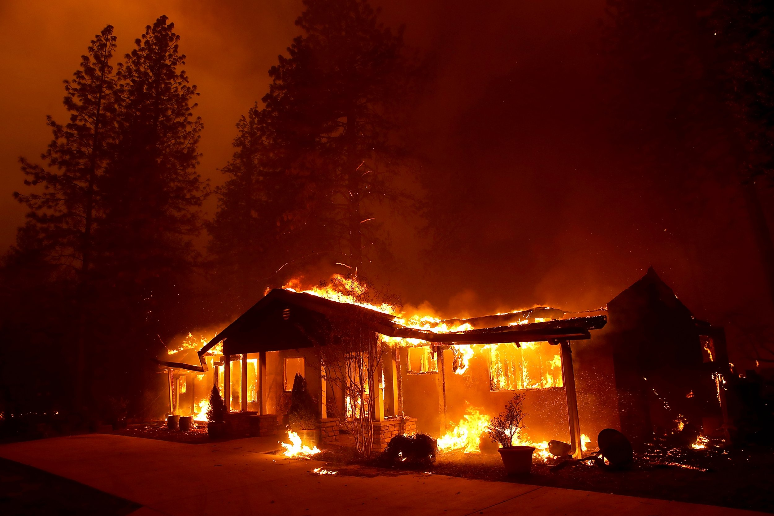 butte county camp fire