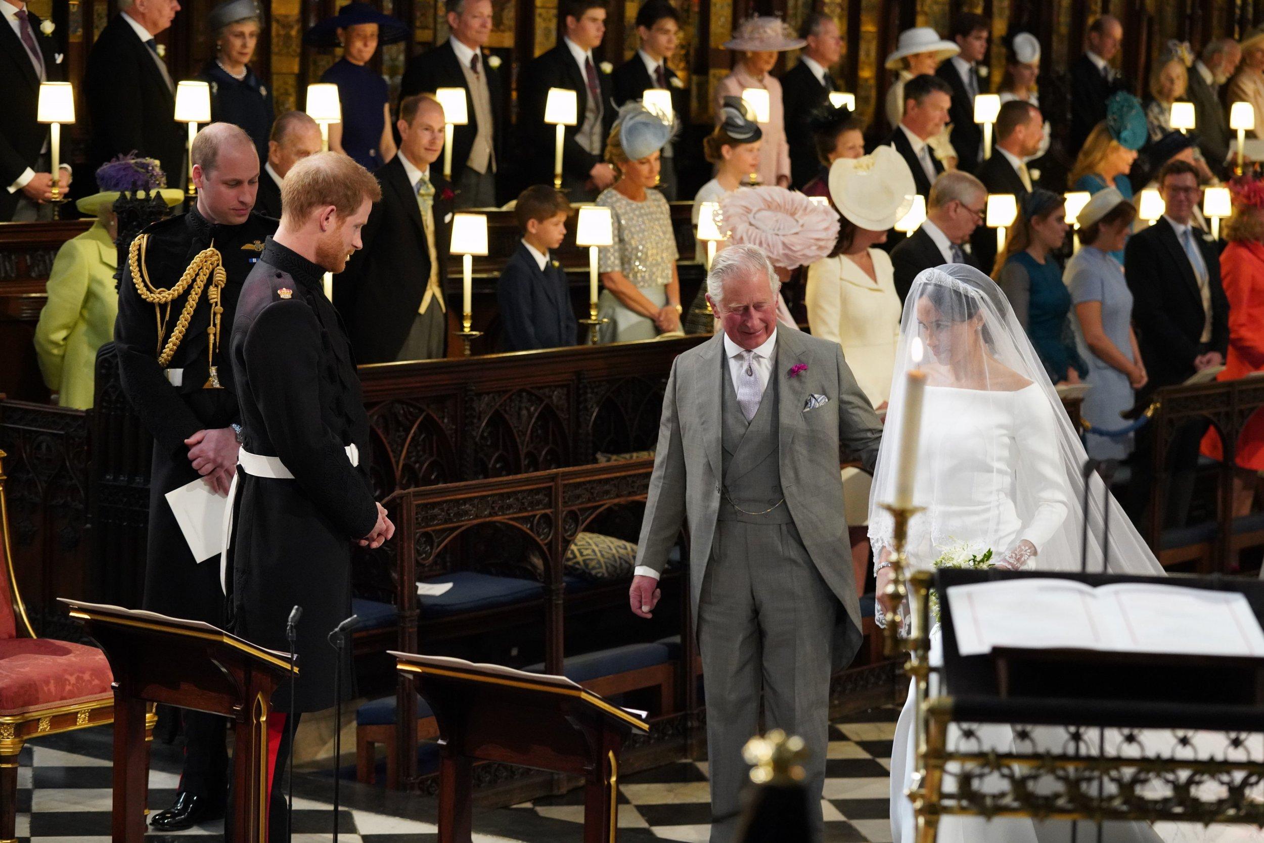 Prince Harry on Prince Charles Walking Meghan Markle Down the Aisle