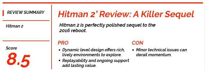 hitman 2 review summary