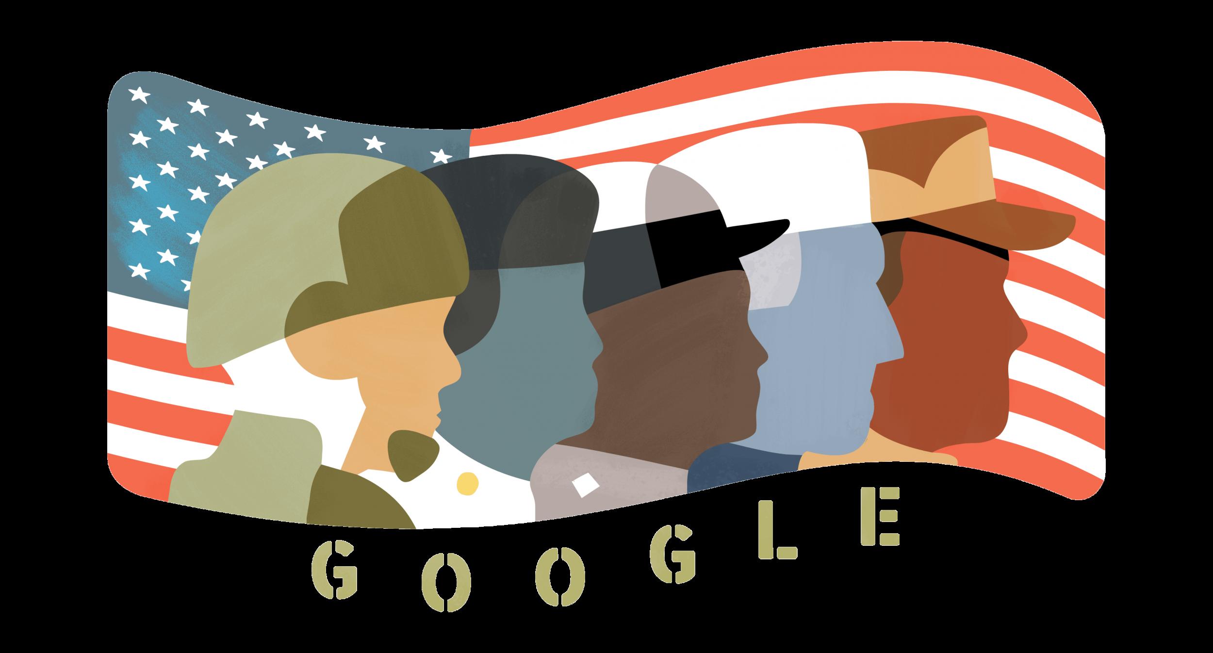 veterans day doodle