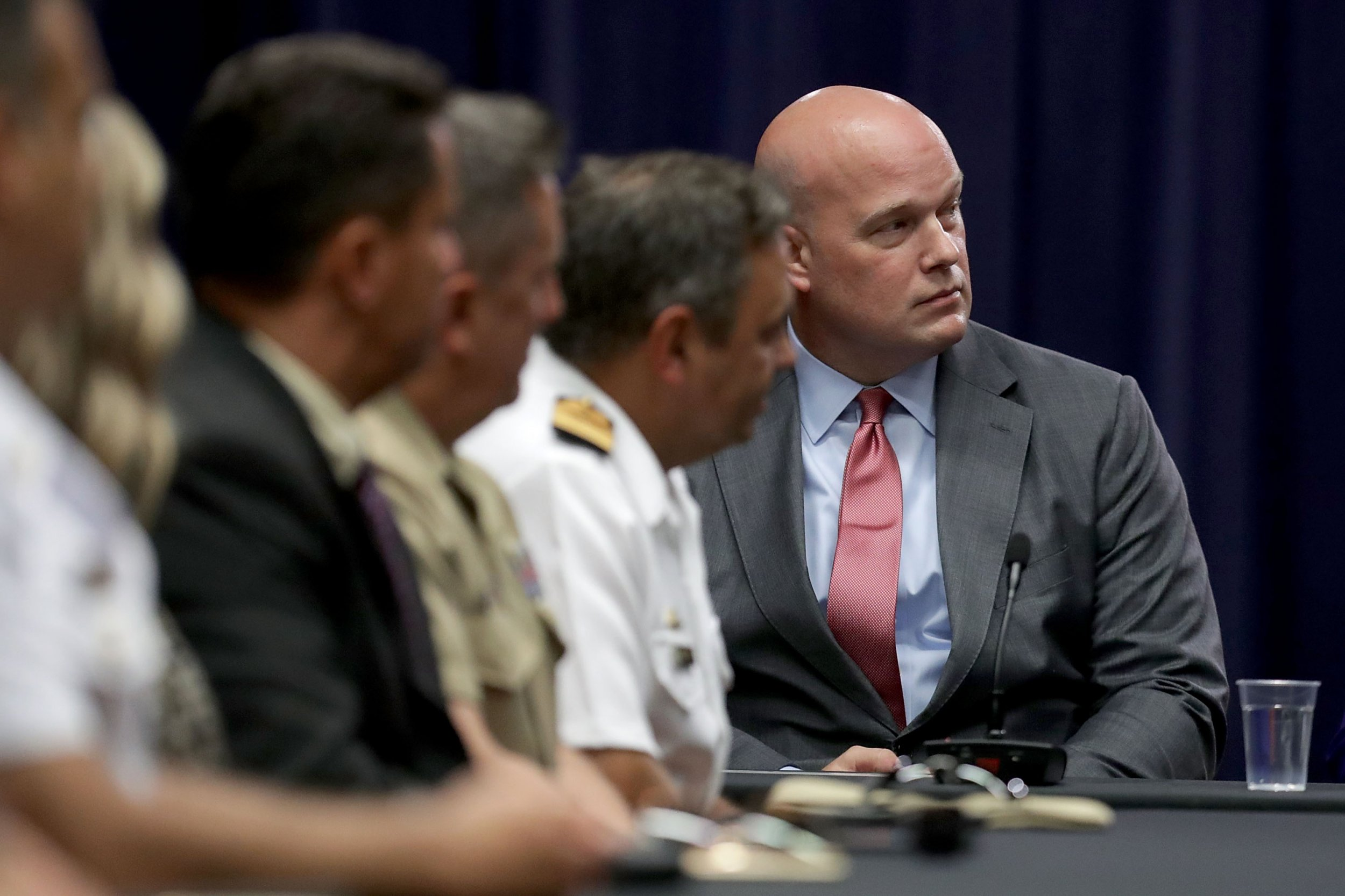acting attorney general federal judges matthew whitaker