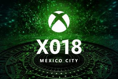 X018 logo