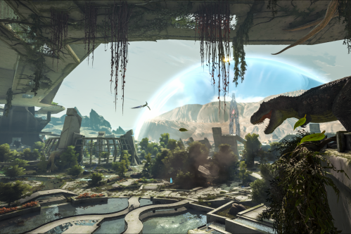 ARK' Update 1 83 Balances Dinos in Extinction on PS4 & Xbox