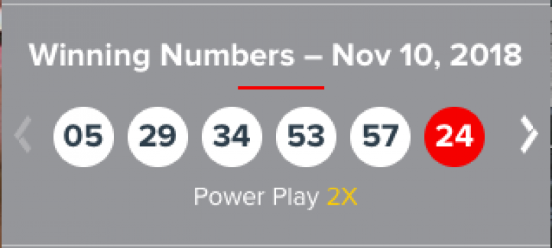 Powerball Numbers For 11 10 18 Live Results For 92 Million Jackpot Tonight