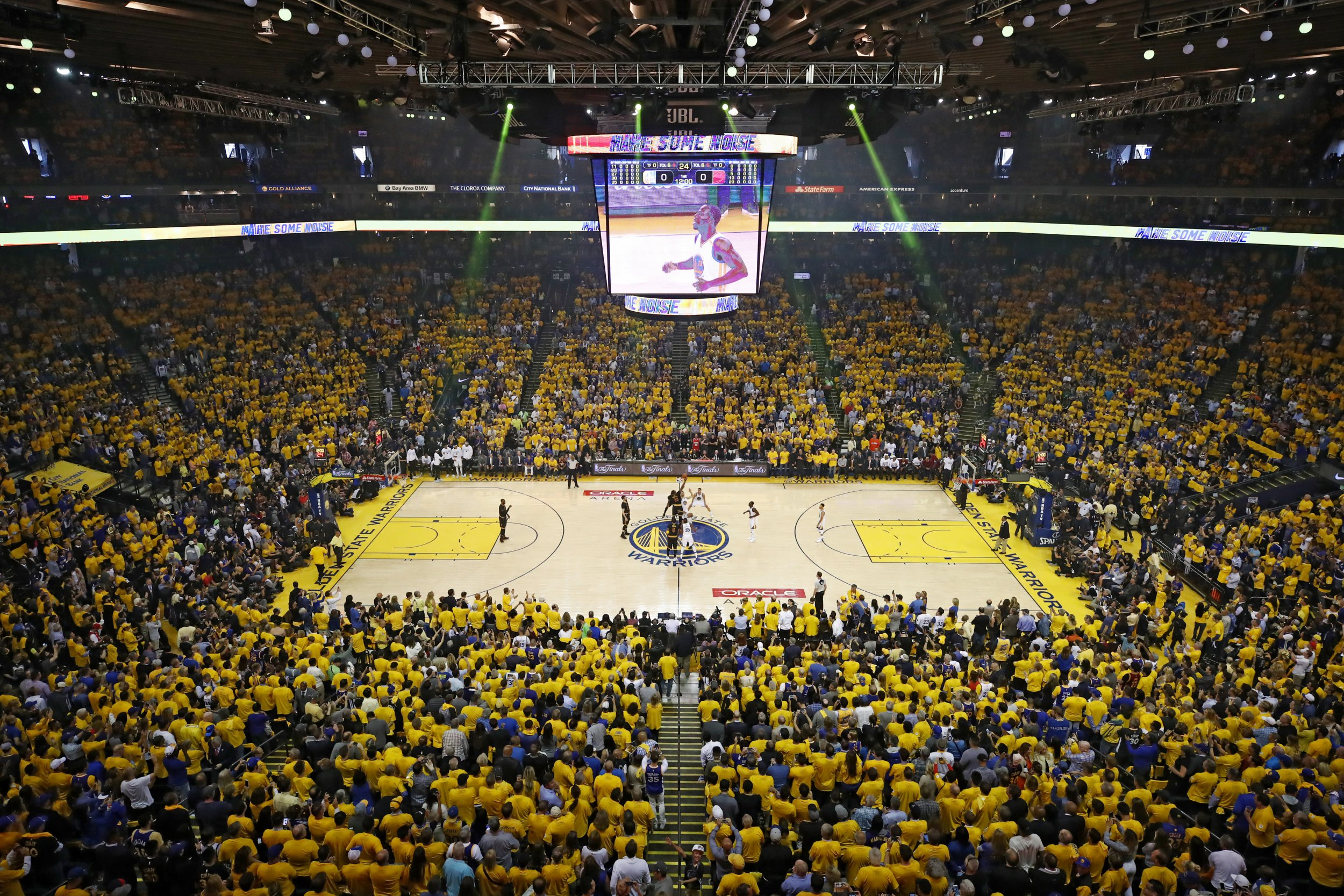 Oracle Arena view