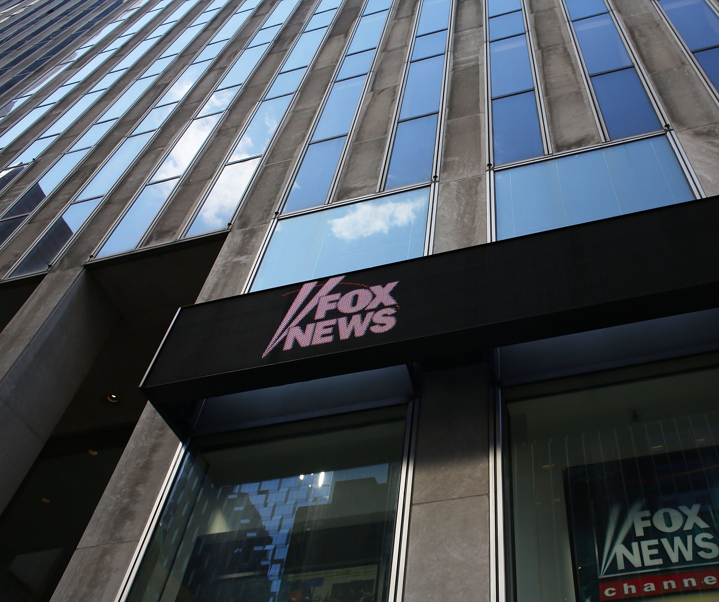 fox news hq twitter protest