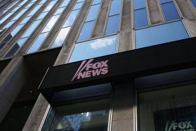 fox news hq twitter protest