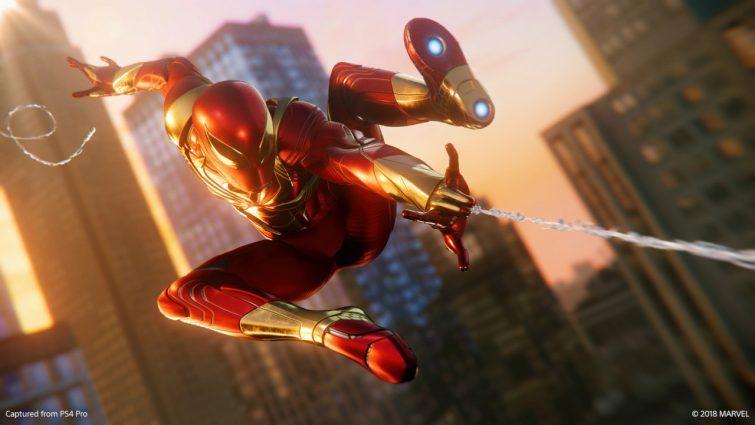spiderman ps4 dlc 2 iron spider suit