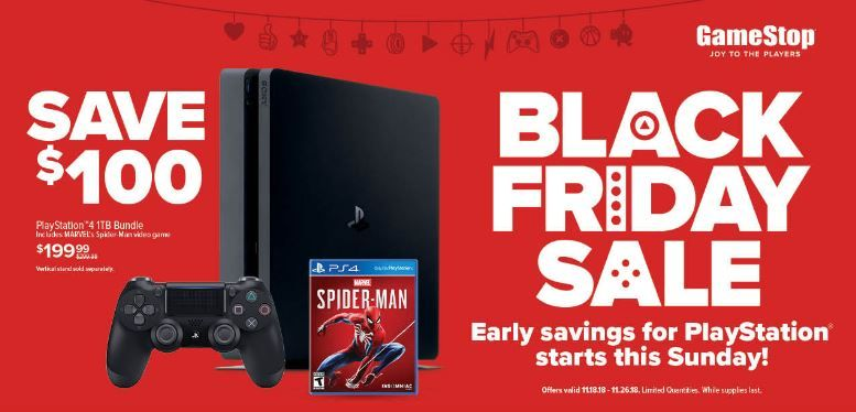 Gamestop Black Friday 2018 Deals Start Saving Early On Xbox One And