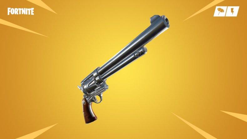 Fortnite Last Word Revolver
