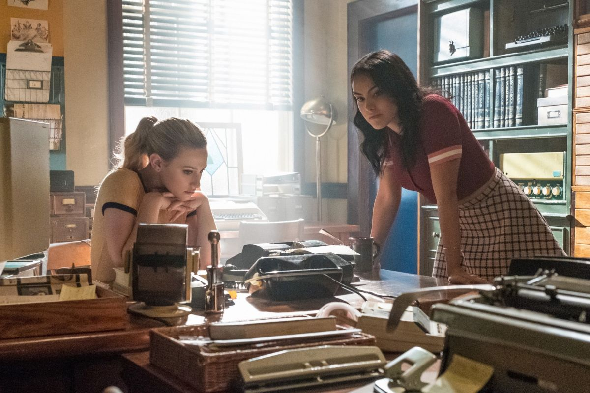 Camila Mendes on Veronica Lodge