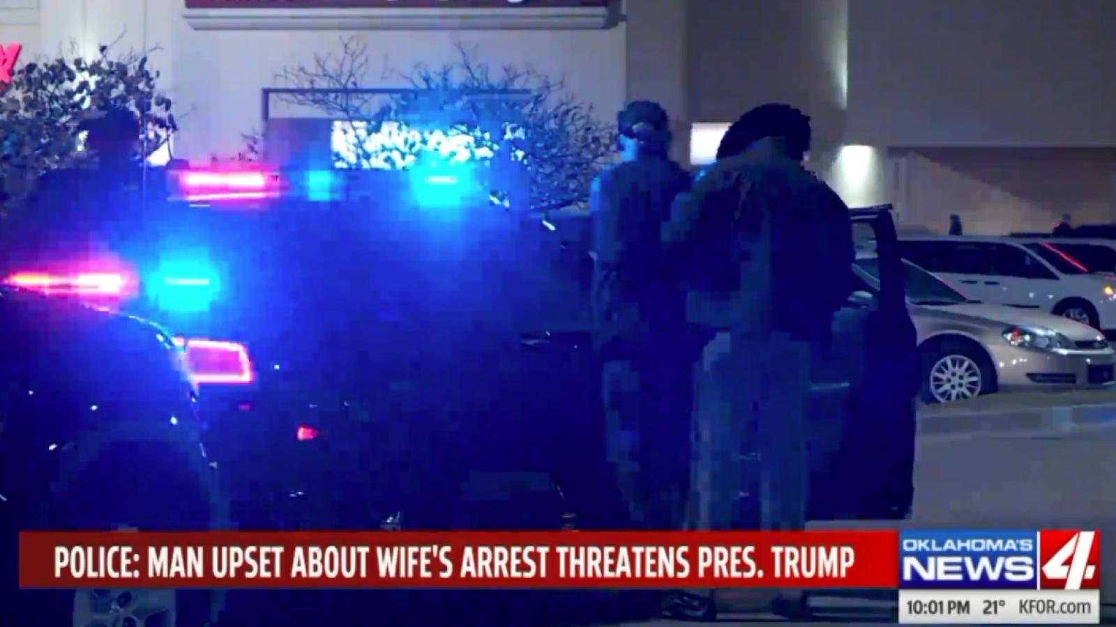 Oklahoma Man Threatens To Kill Trump, 'Every Cop In The