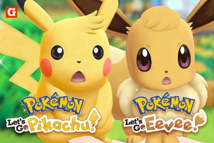 pokemon lets go pikachu vs eevee