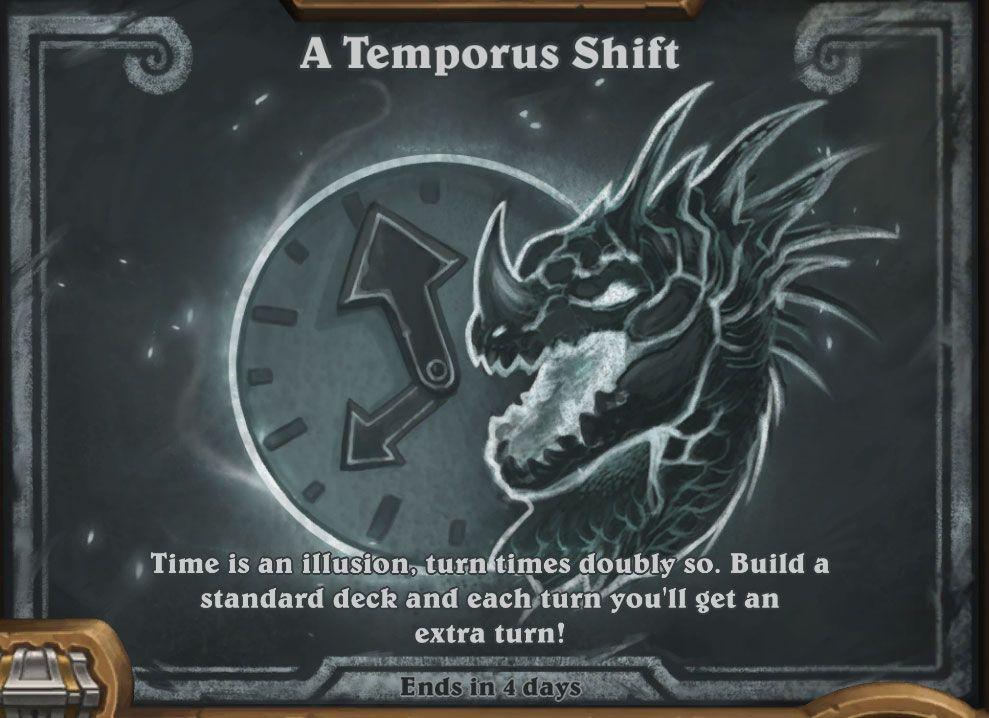 a temporus shift