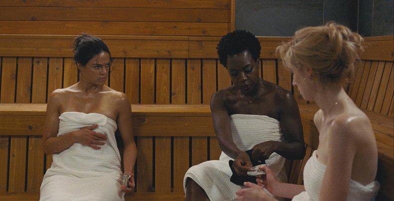 Michelle Rodriguez Talks 'Widows'