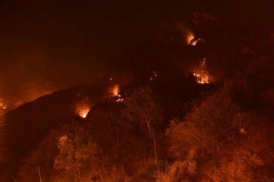 briggs fire california wildfire