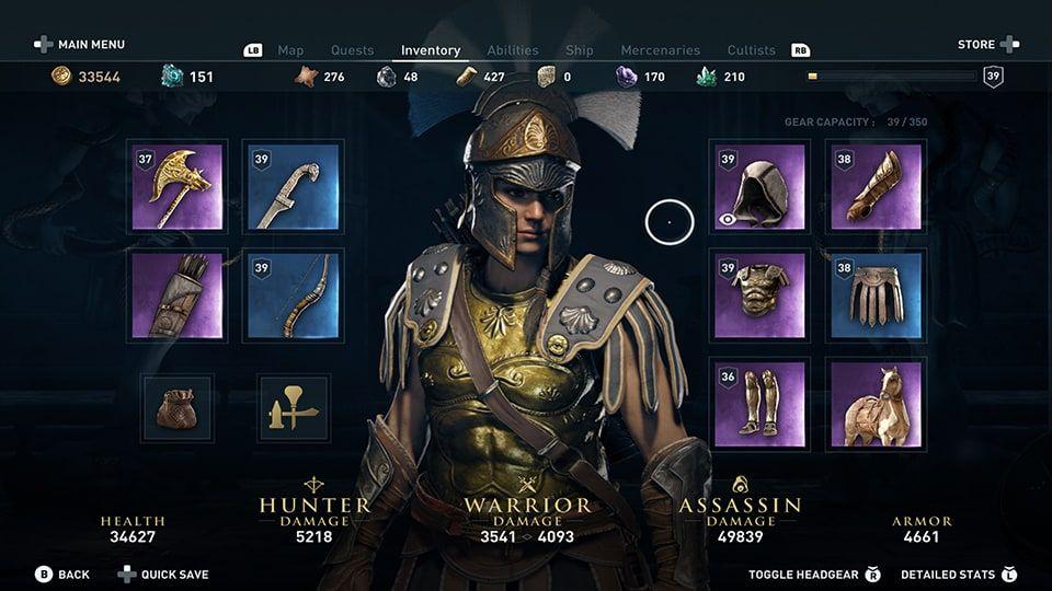 Assassins Creed Odyssey update