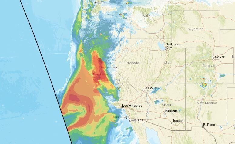 wildfire smoke california