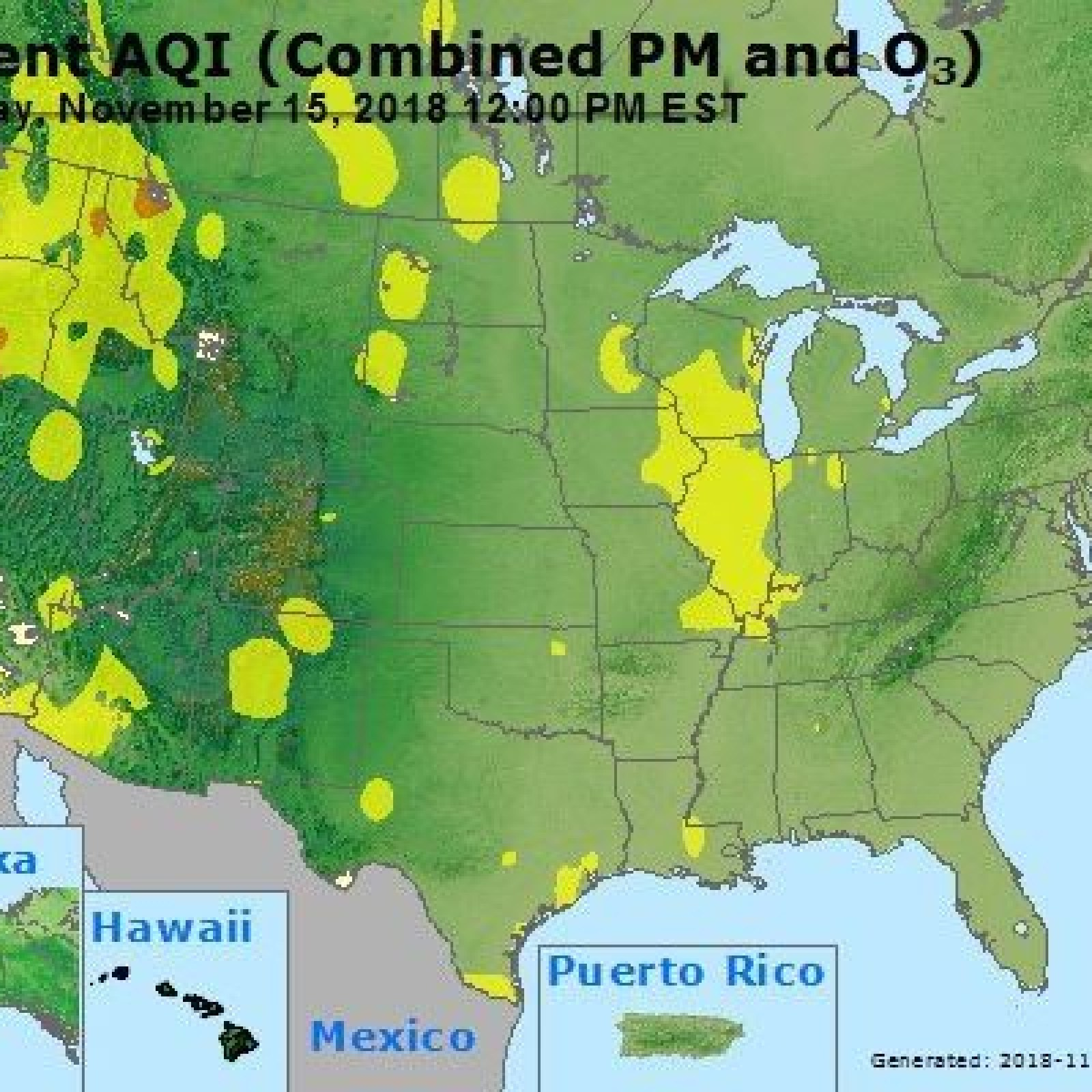 California Wildfire Smoke: Map, Health Concerns With Air ... on shadow map, fire map, mendocino county ca map, air map, current california wildfires 2013 map, lake mendocino map,