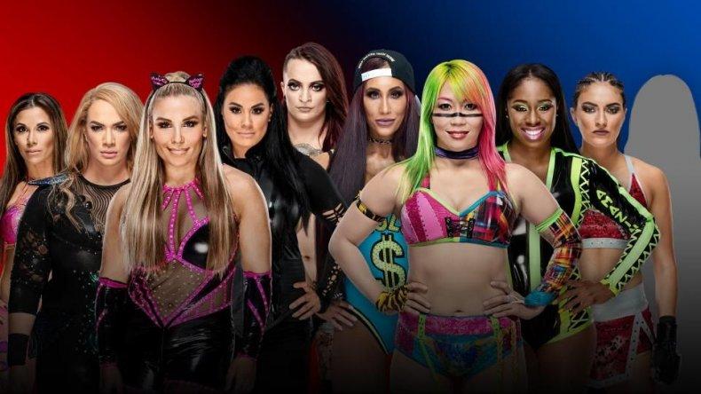 womens ss match survivor series