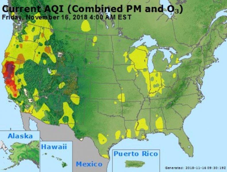 air quality map california 2