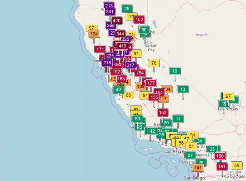 air quality map california